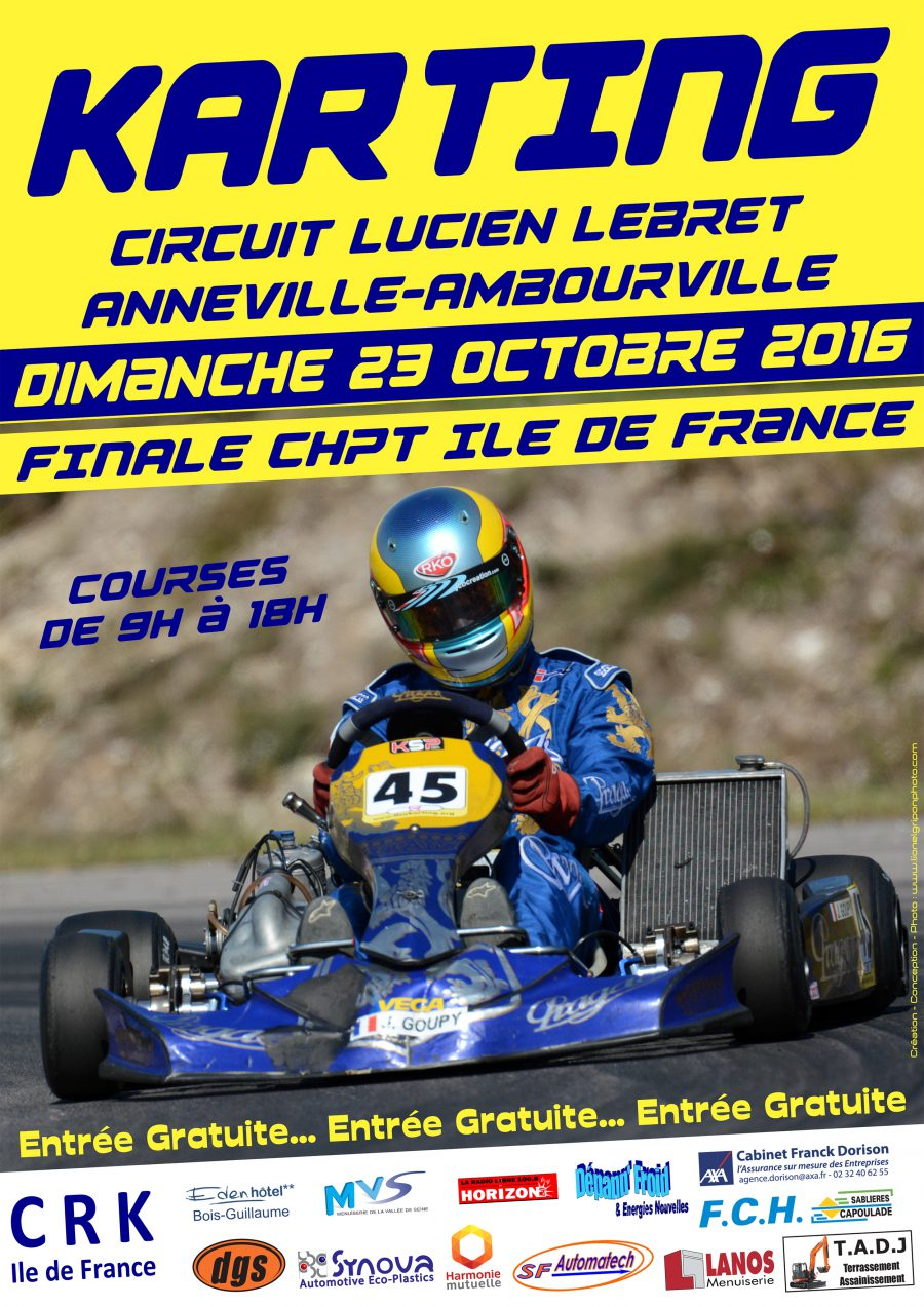 finale championnat ile de france karting rouen le plus beau circuit de la r gion anneville. Black Bedroom Furniture Sets. Home Design Ideas